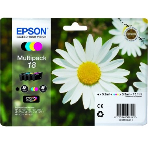 EPSON   MULTIPACK 4 COUL C13T18064010