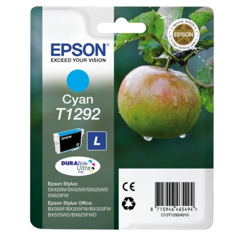 EPSON CART JET ENCRE CYANC13T12924010