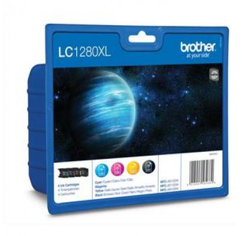 BROTHER VAL PACK N/C/M/J-LC1280XL-VALBP