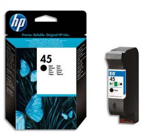HP CART JT ENC No45 NOIR 51645GE