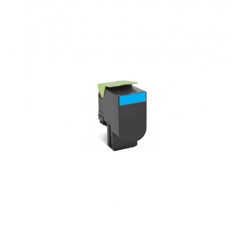 Toner compat.CYAN lexmark 80C2HC0 3000pages