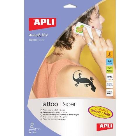 Papier tatouage A4 2f. APLI