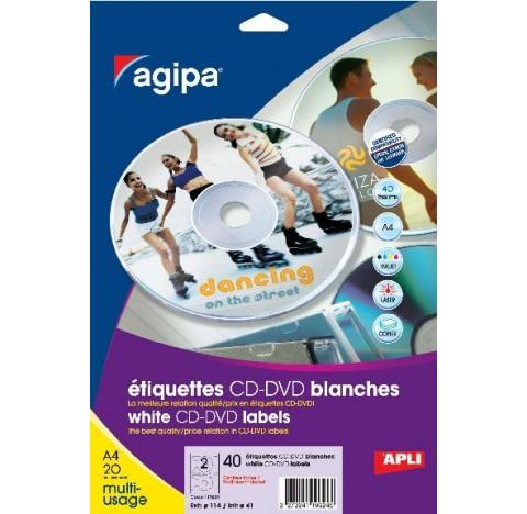 P 40 ETQ CD INKJET LASER MED D114