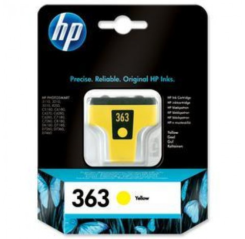 HP CART JT ENC No363 JAUNE C8773EE BA1