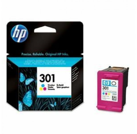 HP CART JET ENCRE NO 301 COUL CH562EE