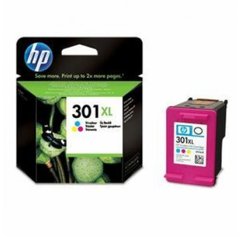 HP CART JET ENCRE NO 301XL COUL CH564EE