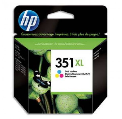 HP CARTOUCHE COULEUR 351XL CB338EE 2074