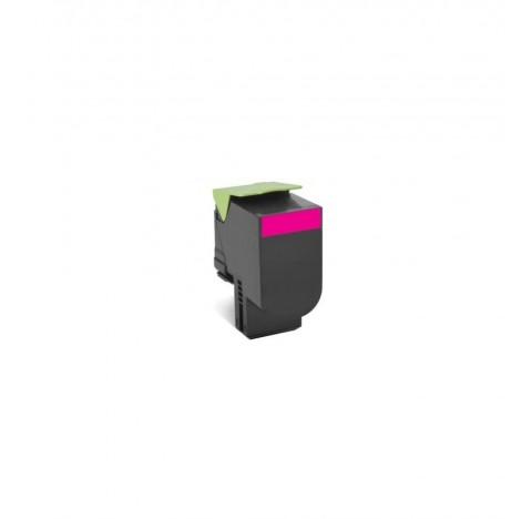 Toner compat.Magenta lexmark 80C2HM0 3000pages
