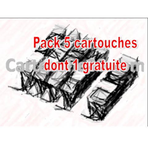 PACK JE COMPAT CLI521 N/C/M/J + PGI 520 NR grt