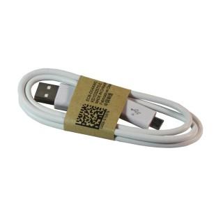 Câble chargeur USB pour appareils micro-USB - Blanc