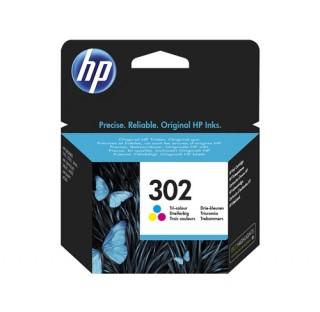 HP 302 3COULEURS F6U65AE