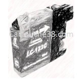 CARTOUCHE COMPATIBLE LC123XL CYAN 10ML