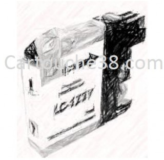 CARTOUCHE COMPATIBLE LC123XL JAUNE 10ml