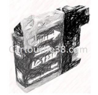 CARTOUCHE COMPATIBLE LC123XL MAGENTA 10ml