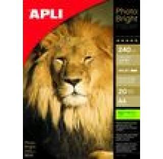 Papier photo bright pro 200gr A4 20f.APLI