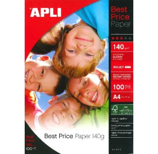 Papier Photo A4 BEST PRICE 140G.100F